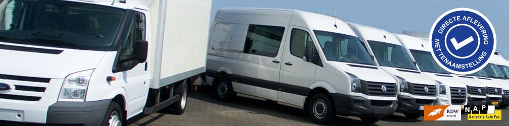 Ruim 220 nieuwe en gebruikte bedrijfswagens van alle merken, bouwjaren en prijsklassen!