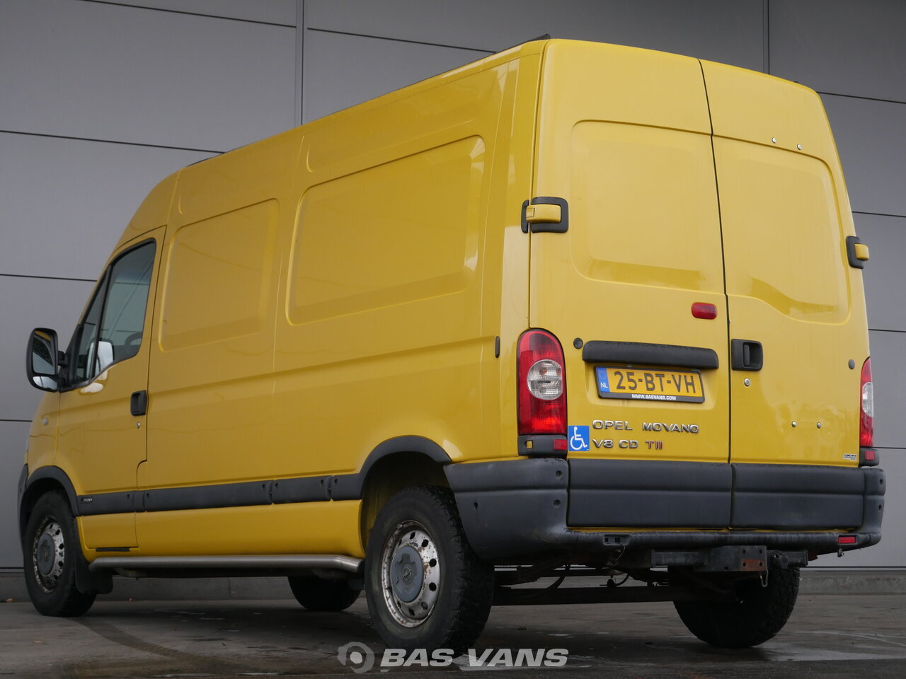 opel movano 2.5 cdti 2005 closed van light commercial