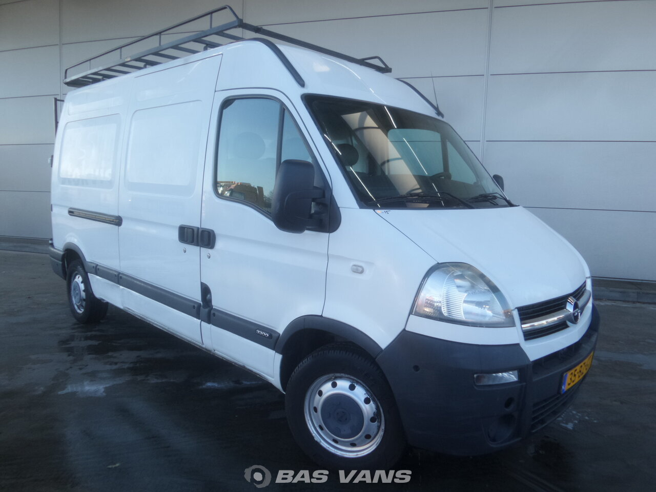 opel movano 2.5 cdti 2006 closed van light commercial